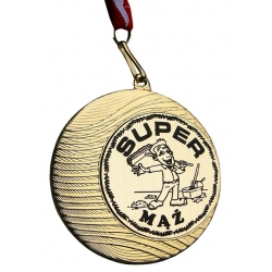 MEDAL SUPER MĄŻ METAL